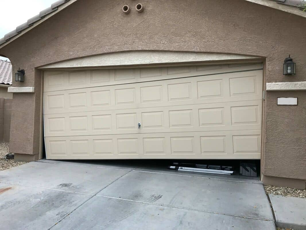track new doors off garage vegas nevada door installation installations las